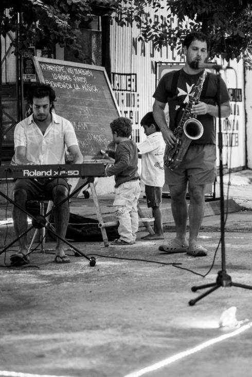 Mercedes Jazz a la Calle 2015